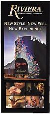 Riviera Hotel Casino Las Vegas Ad Brochure Kristofer's Kady's Rist Italiano  L
