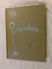 Parhischan 58 Parkersburg High School Yearbook 1958 West Virginia