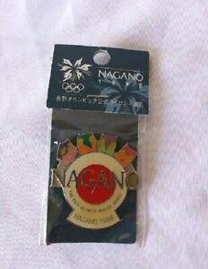 Nagano 1998 Olympics Pin Mascot Vintage