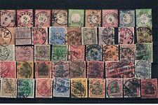 Alemania Imperio. 3 fichas con 123 sellos diferentes con valor de catalogo 140 €