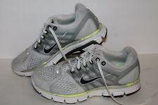 Nike Lunarglide 2 + Running Shoes, #443824-001, Wht/Grey/Black, Womens US Size 8
