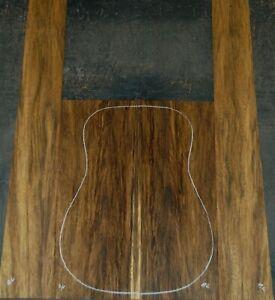 Black Limba acoustic guitar back and Side set Luthier Tonewood