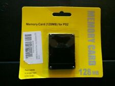 Playstation 2 PS2 128MB Memory Card ** BRAND NEW **