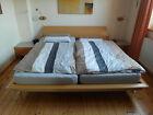 Hülsta - Doppelbett mit Lattenrosten  (2 x 100 x 200) und Nachtischen günstig