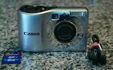 Canon PowerShot A1200 12.1MP HD 720p Camera 4x W/ 8GB SD, USB Tested Free Ship