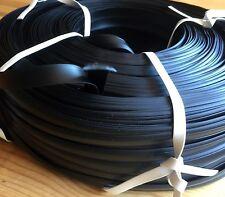 30 m Abdeckprofil Kederschiene Schraubkanal Leistenfüller schwarz 12mm
