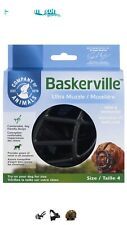 Baskerville Ultra Muzzle for Dogs Black Size 4 New