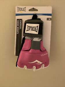 Everlast EverGel Women Hand Wraps MMA Pink Size Medium