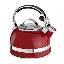 KitchenAid 2-Qt. Kettle with Full Handle and Trim Band. Red . New