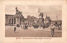 "antique german postcard Berlin"" Nationaldenkmal Kaiser Wilhelm   ""3346"""