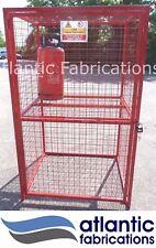 12 x  Propane 19kg Gas cylinder storage - Bottle cage 1800h x 1100w x 900d