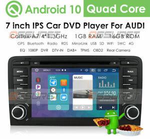 "For Audi A3 2003-2012 S3 RS3 7"" Car Radio Stereo Player GPS Sat Nav DVD CD DAB+"