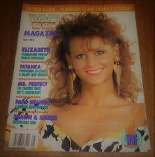 May 1992 Issue WWF WWE Wrestling Magazine - Elizabeth Cover