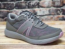 Alegria TRAQ Qarma Gray/Pink Smart Walking Shoe  *QAR-5022