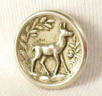 Button Hunting with Hounds Hunting with Hounds Tête de Brocade Deer Hunt Button