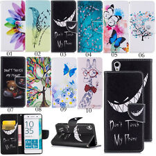 Magnetic Flip Stand Cover Card Wallet PU Leather Phone Case Holster For Phones