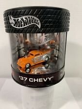 Hot Wheels Oil Can Street Rod Series '37 Chevy {ORANGE} LE #7000