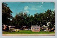 Cordele GA, Georgian Motor Court, Motel, Chrome Georgia Postcard