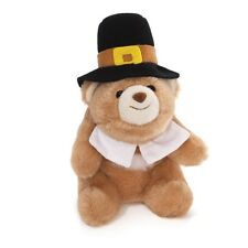 "GUND  BEAR - 5""  LIL SNUFFLES -  THANKSGIVING PILGRIM -  #4042787"