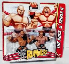 WWE Rumblers 2 Pack - The Rock - Triple H