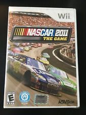 NASCAR 2011 the Game (Nintendo Wii, 2011) NEW & SEALED!