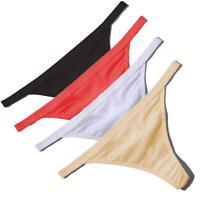 Underwear Cotton Underpants Low-Waist Briefs G-String Thongs Lady Panties