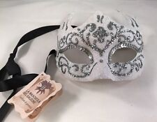NWT Authentic La Maschera del Galeone Hand Made in  Venice Italy Jester Mask