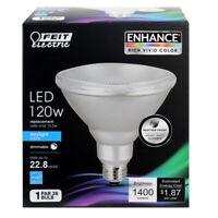 FEIT Electric 155 watts PAR38 LED Bulb 1400 lumens Daylight Floodlight 120 Watt