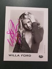 Willa Ford autographed Photograph - COA