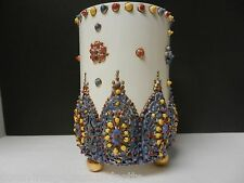 KNOWLES TAYLOR KNOWLES LOTUS WARE TUSCAN VASE BEAUTIFUL