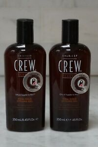 2 PACK. 8.45 oz. American Crew Firm Hold Styling Gel. 250ml. NEW. FREE SHIPPING.