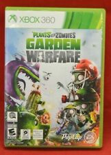 Xbox 360 Plants VS Zombies Garden Warfare Game Clean Disc Previously Played 1085