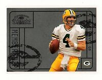 2004 Donruss Classic Membership BRETT FAVRE Green Bay Packers #M-3 0643/1000