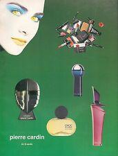 ▬► PUBLICITE ADVERTISING AD PIERRE CARDIN  1994 énigme, choc, rose, bleu marine