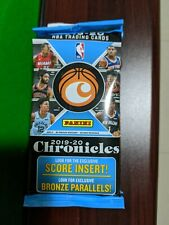 2019-20 Panini Chronicles Basketball Fat Pack Zion Ja NBA Fatpack Cello Rookies