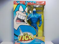 """VTG 1994 THE TALKING TICK PARLANT 16"""" Poseable ACTION FIGURE 6 Phrases IRWIN"""