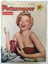 Marilyn Monroe Picturegoer Magazine, 17 Nov 1956 Lovely Cover rare UK Movie Mag