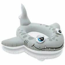 SHARK Childrens Inflatable Swimming Pool Water Cruiser Ride On Boat Float 59380