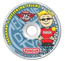 Freehand & Offstring Tricks Vol. 1 PC CD learn Yo-Yo videos instructions & music