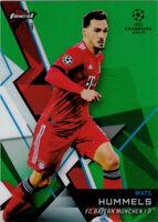 Topps Finest UEFA Champions League Green Refractor #22 Mats Hummels 55/99