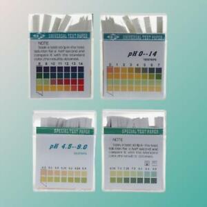 1 OR 100 STRIPS ALKALINE pH DUAL TEST STRIPS KIT URINE SALIVA pH FOR BODY LEVELS