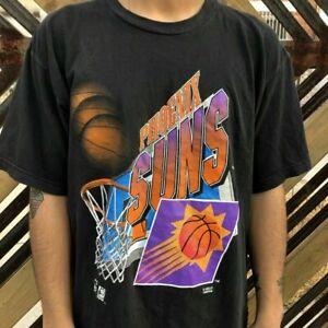 Vintage 90s NBA Phoenix Suns Basketball Team 2021 T Shirt Vintage Men Gift Tee