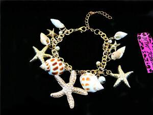 Betsey johnson sexy fashion Sea style conch starfish female Bracelets