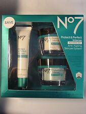 Boots No7 Protect & Perfect Intense Skincare System Kit  Exp 2019 New