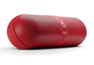 Beats Pill 1.0 Refurbished Portable Wireless Bluetooth Speaker (Red)