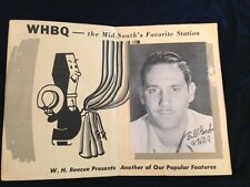 WHBQ Radio Advertising Brochure