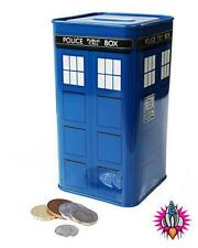 NEW OFFICIAL DR WHO TARDIS 50TH ANNIVERSARY TIN TALL MONEY BOX