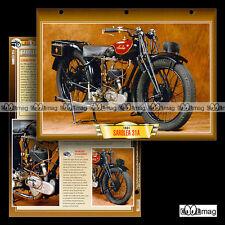 #139.09 Fiche Moto SAROLEA 350 31 A (31A) 1925-1932 Classic Bike Motorcycle Card