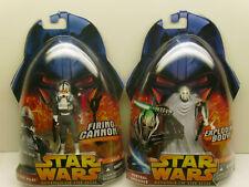 Star Wars ROTS Clone Pilot, General Grievous Lot of 2