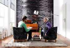 Fototapete BIRKENRINDE 368x254 Komar edles Design! dunkle Baumrinde, individuell